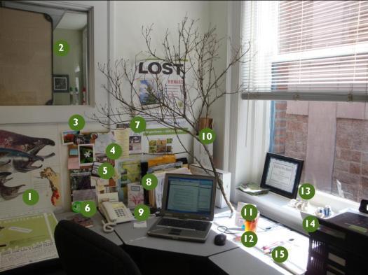 Norah's Desk